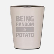 Cute Potatoes Shot Glass