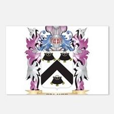 Palmer- Coat of Arms - Fa Postcards (Package of 8)