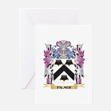 Palmer- Coat of Arms - Family Crest Greeting Cards