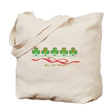 Merry Irish Christmas II Tote Bag