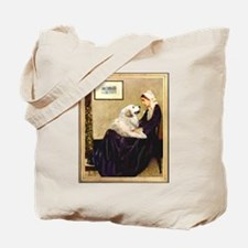 WMom-Great Pyrenees Tote Bag