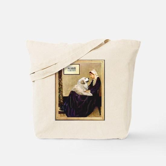 WMom-Great Pyrenees Tote Bag