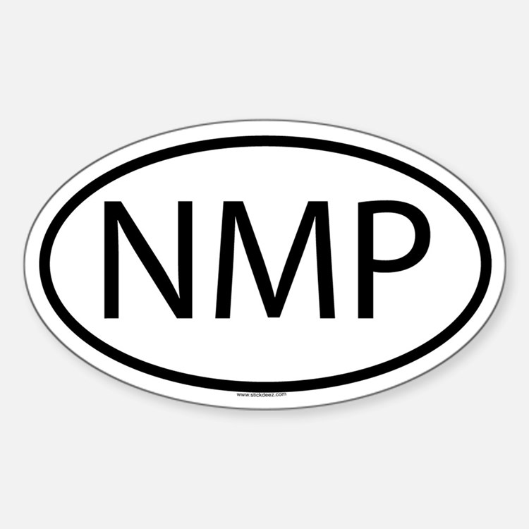 NMP Oval Decal
