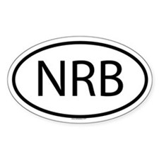 NRB Oval Decal