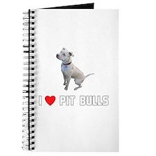 I Love Pit Bulls Journal