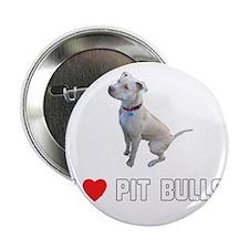 "I Love Pit Bulls 2.25"" Button"