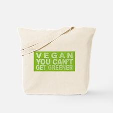 Vegan - Can't get greener Tote Bag