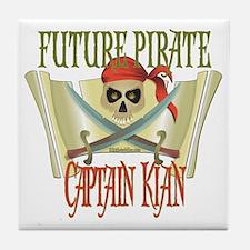 Captain Kian Tile Coaster