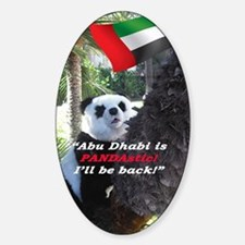 Cute Abu dhabi Sticker (Oval)