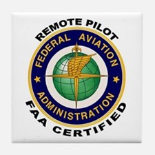 FAA Certified Remote Pilot Tile Coaster