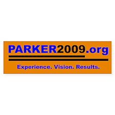 Parker for Mayor Bumper Bumper Sticker