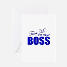 Trust Me I'm Your Boss Greeting Cards (Pk of 10)