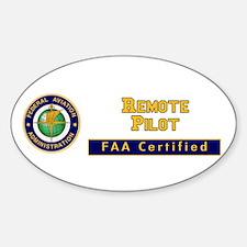 Faa Certified Remote Pilot Decal