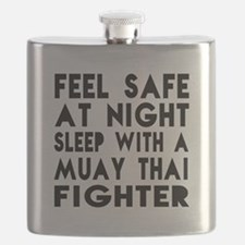 Feel Safe With Muay Thai Fighter Flask