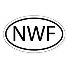 NWF Oval Decal