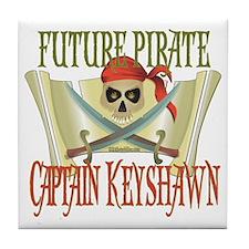 Captain Keyshawn Tile Coaster