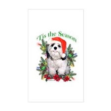 Shih Tzu 'Tis Rectangle Decal