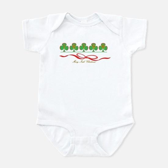 Merry Irish Christmas II Infant Bodysuit