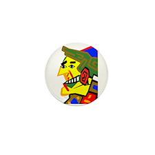City Man Mini Button
