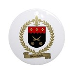 BOUCHARD Family Crest Ornament (Round)