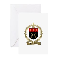 BOUCHARD Family Crest Greeting Card
