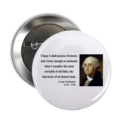 "George Washington 16 2.25"" Button"