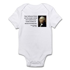 George Washington 16 Infant Bodysuit
