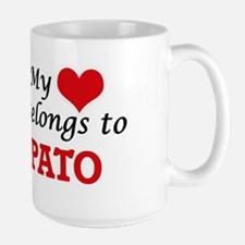 My heart belongs to Pato Mugs