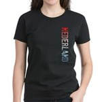 Nederland Stamp Women's Dark T-Shirt