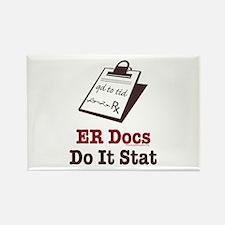 Funny Doctor ER Doc Rectangle Magnet