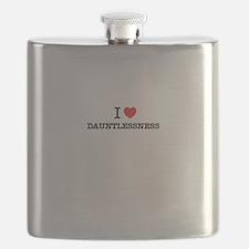 I Love DAUNTLESSNESS Flask