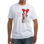 Rudolph the Red-Nosed Retriev Fitted T-Shirt