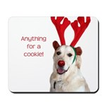 Rudolph the Red-Nosed Retriev Mousepad