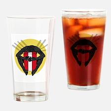 Amor Cajon Peru Drinking Glass