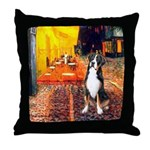 Cafe / GSMD Throw Pillow