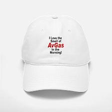 I love the smell of avgas in Baseball Baseball Cap