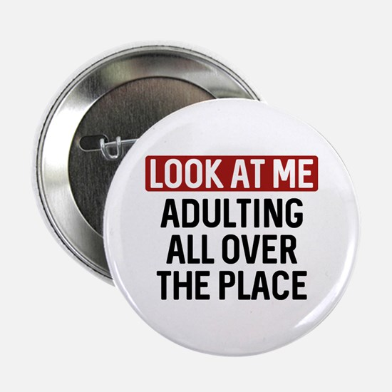 """Look At Me 2.25"""" Button (10 pack)"""