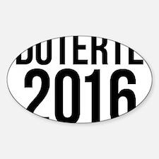 Duterte 2016 Decal