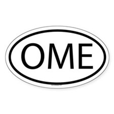 OME Oval Decal