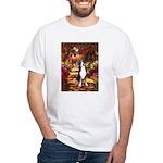 Path / GSMD White T-Shirt