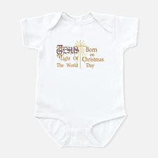 Jesus, Light of the World Infant Bodysuit