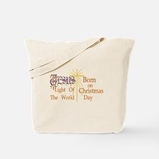 Jesus Light of the World Tote Bag