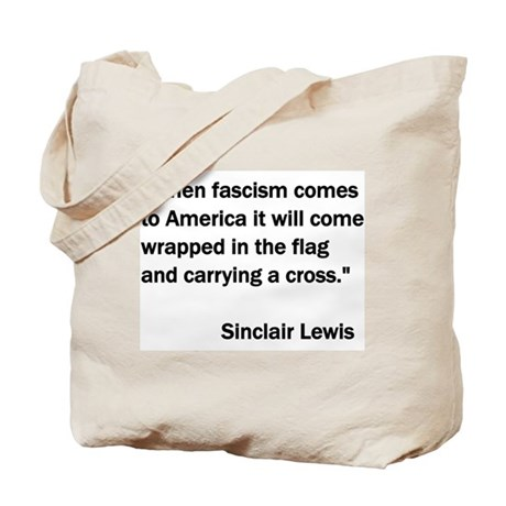 When Fascism Comes to America Tote Bag