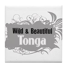Wild Tonga Tile Coaster