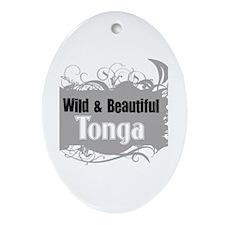 Wild Tonga Oval Ornament