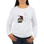 Year of the Cube Monkey Women's Long Sleeve T-Shir