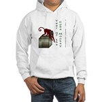 Year of the Cube Monkey Hooded Sweatshirt