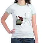 Year of the Cube Monkey Jr. Ringer T-Shirt