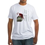 Year of the Cube Monkey Fitted T-Shirt