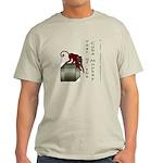 Year of the Cube Monkey Light T-Shirt